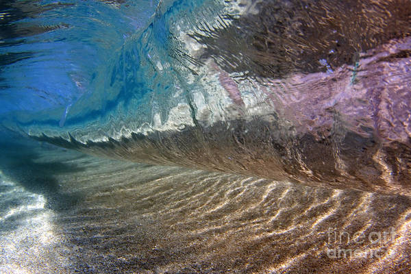 Wall Art - Photograph - Underwater View Of A Breaking Wave by Vince Cavataio