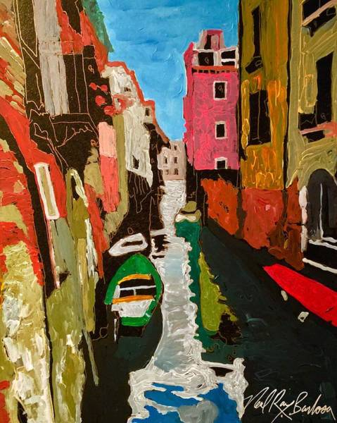 Painting - Unfinished Venice Italy  by Neal Barbosa