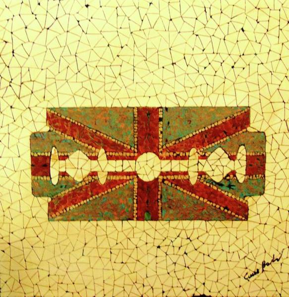 Wall Art - Painting - Union Jack by Emil Bodourov