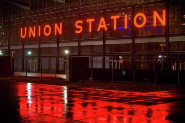 Photograph - Union Station by Bud Simpson