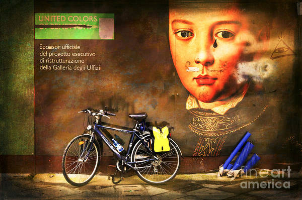 Photograph - United Colors Bicycle by Craig J Satterlee