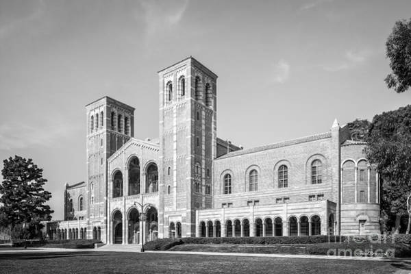 Wall Art - Photograph - University Of California Los Angeles Royce Hall by University Icons