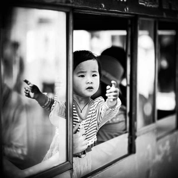 Child Photograph - Untitled by Matthias Leberle