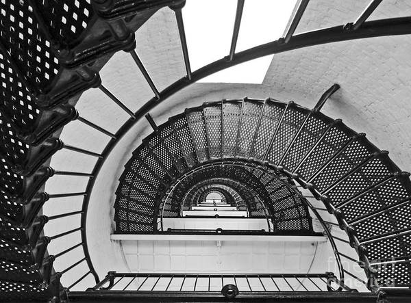 Steve Augustine Photograph - Up The Down Staircase by Steve  Gass
