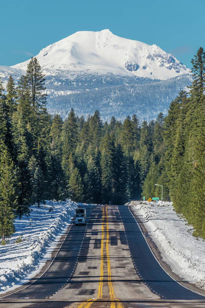 Plumas County Photograph - Up To The Mountain by Jan Davies