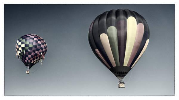 Balloon Festival Photograph - Up Up And Away by Robert Fawcett
