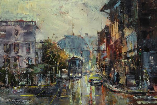 Painting - Urban Morning by Stefano Popovski
