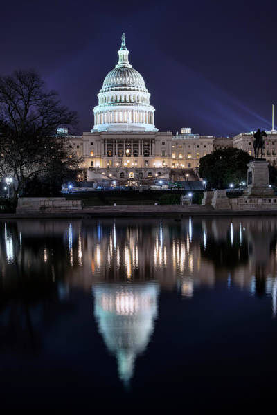 Photograph - Us Capital Building by Bill Dodsworth