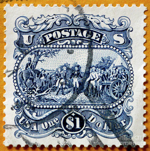 Photograph - $1 U S Stamp by Paul W Faust - Impressions of Light