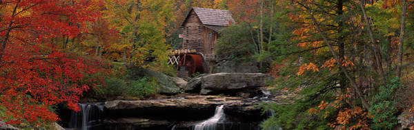 Babcock Photograph - Usa, West Virginia, Glade Creek Grist by Panoramic Images