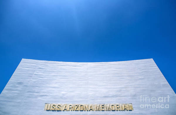 Uss Arizona Wall Art - Photograph - Uss Arizona Memorial by Diane Diederich