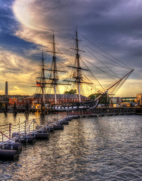Photograph - Uss Constitution - Boston by Joann Vitali