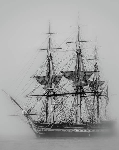 Photograph - Uss Constitution by Robert Mitchell