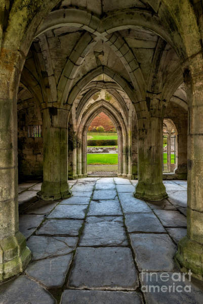 Digital Art - Valle Crucis Abbey  by Adrian Evans