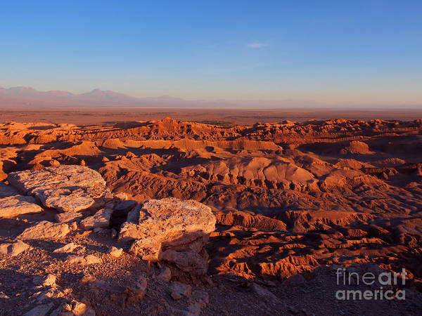 Wall Art - Photograph - Valle De La Luna In The Atacama Desert Chile by Louise Heusinkveld