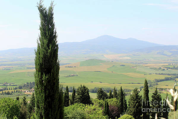 Wall Art - Photograph - Valley Of Orcia Near Pienza Italy by Adam Long