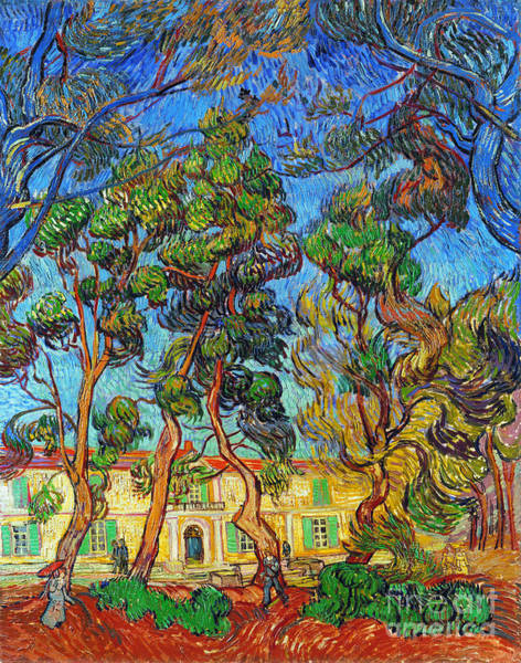 Aod Wall Art - Photograph - Van Gogh: Hospital, 1889 by Granger