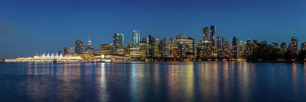 Photograph - Vancouver City Twilight by Pierre Leclerc Photography