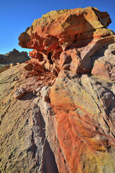 Photograph - Vein Of Color In Valley Of Fire by Ray Mathis