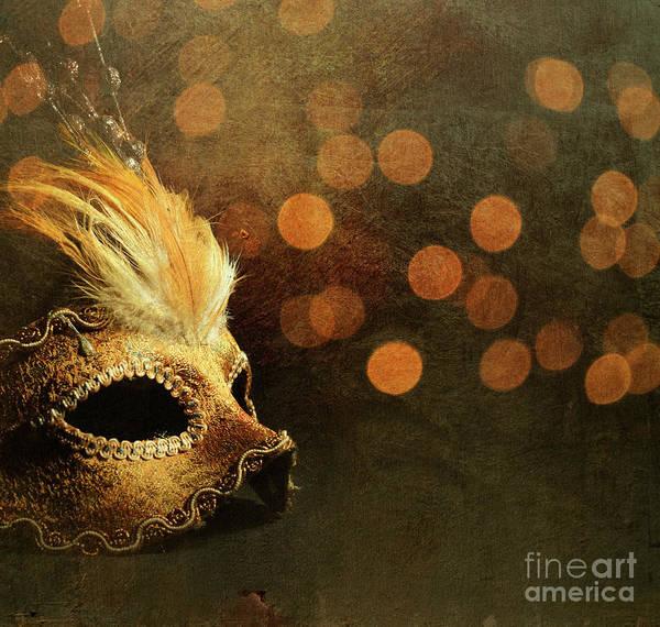 Mardi Gras Photograph - Venetian Mask by Jelena Jovanovic