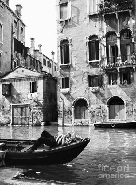 Photograph - Venice Canal, 1969 by Granger