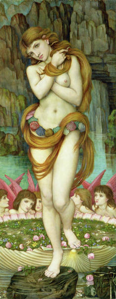 Wall Art - Painting - Venus by John Roddam Spencer Stanhope
