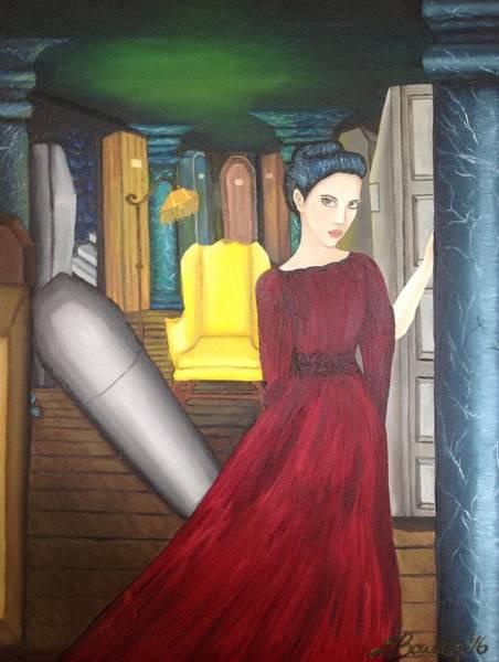 Serial Killer Painting - Vera Renczi by Lisa Bowden