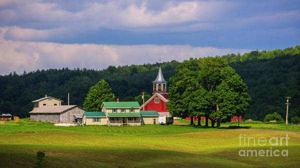 Photograph - Vermont Dairy Farm by Scenic Vermont Photography
