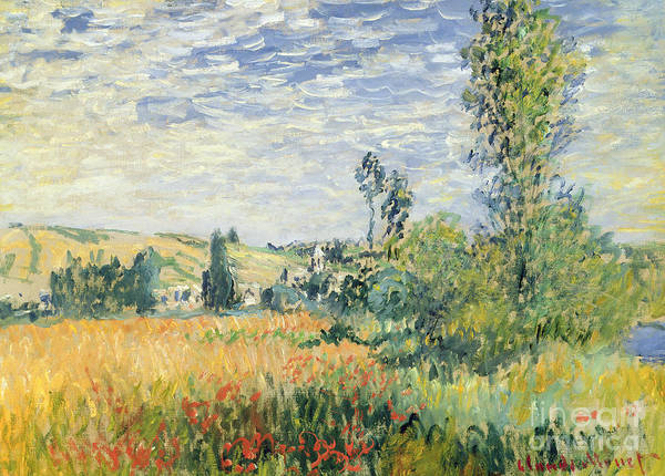 Wall Art - Painting - Vetheuil by Claude Monet