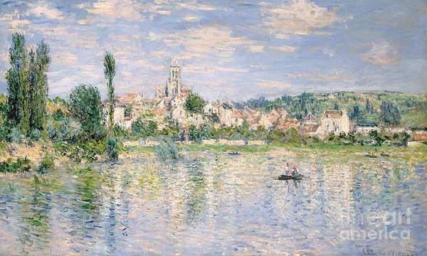 Vetheuil Wall Art - Painting - Vetheuil In Summer, 1880 by Claude Monet