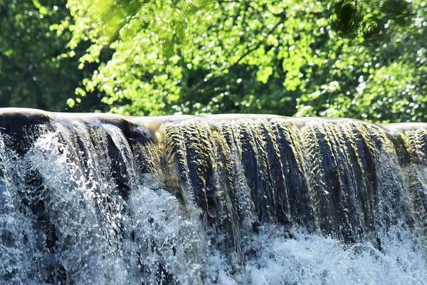 Wall Art - Photograph - Vickery Creek Waterfall by Mary Ann Artz