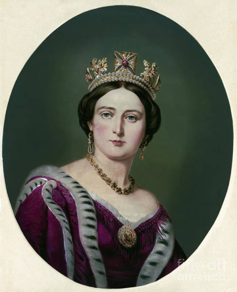 Photograph - Victoria, Queen Of England by Science Source