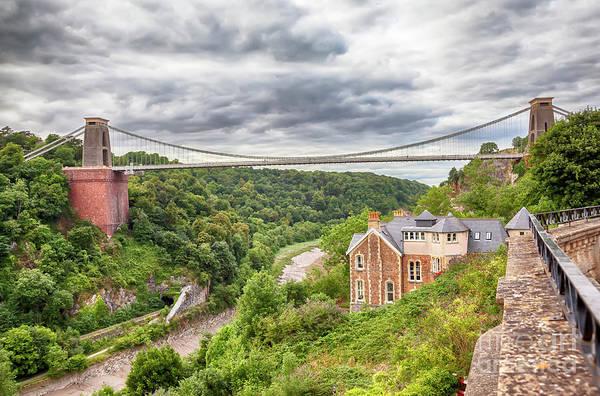 Photograph - view at Bristol bridge by Ariadna De Raadt