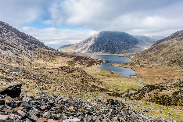 Photograph - View From Glyder Fawr by Nick Bywater