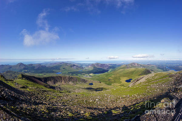 Photograph - View From Snowdon Summit by Ian Mitchell