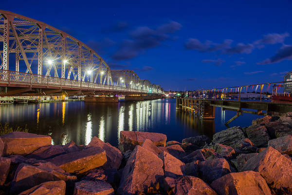Keith Urban Wall Art - Photograph - View Of A Historic Bridge by Keith Homan