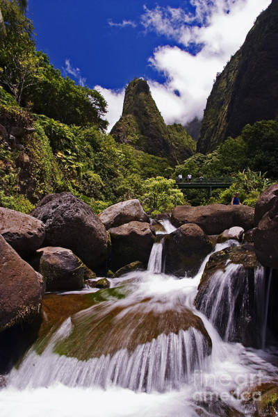 Wall Art - Photograph - View Of Iao Needle by Ron Dahlquist - Printscapes