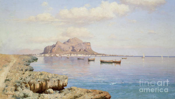 Daylight Painting - View Of Palermo by Francesco Lojacono