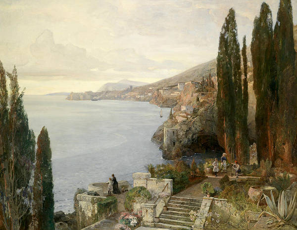 Painting - View Of Ragusa by Emil Jakob Schindler