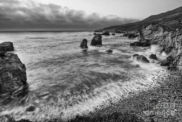 Wall Art - Photograph - View Of The Rocky Coast From Soberanes Point In Garrapata State  by Jamie Pham