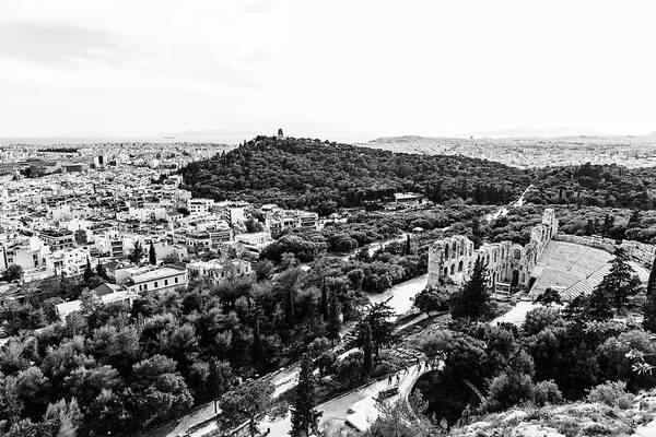 Photograph - View Over Athens by Michael Maximillian Hermansen