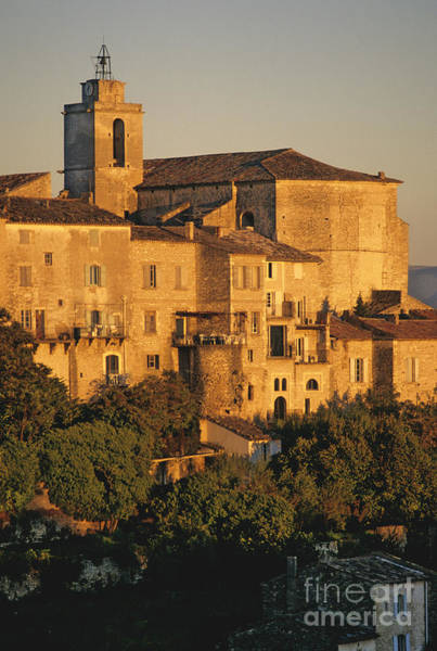 City Scape Photograph - Village De Gordes. Vaucluse. France. Europe by Bernard Jaubert