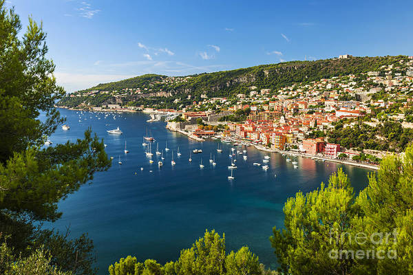 French Riviera Photograph - Villefranche-sur-mer And Cap De Nice On French Riviera by Elena Elisseeva