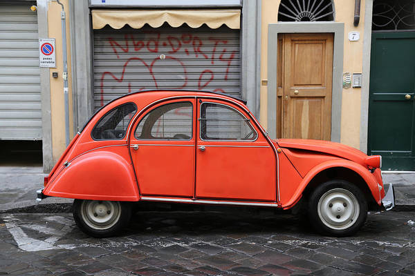 Photograph - Vintage Citroen 2 by Andrew Fare