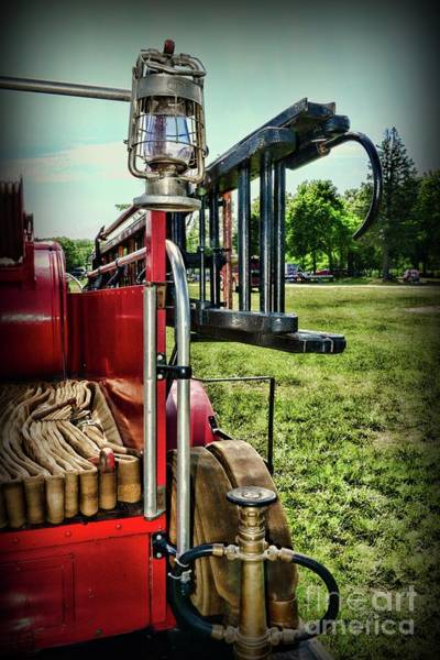 Wall Art - Photograph - Vintage Fire Truck by Paul Ward