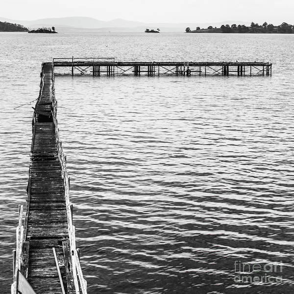 Monochrome Photograph - Vintage Marine Scene by Jorgo Photography - Wall Art Gallery