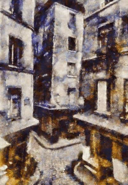 Wall Art - Painting - Vintage Paris by Esoterica Art Agency