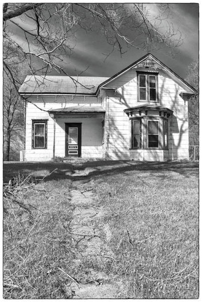 Visiting The Old Homestead Art Print