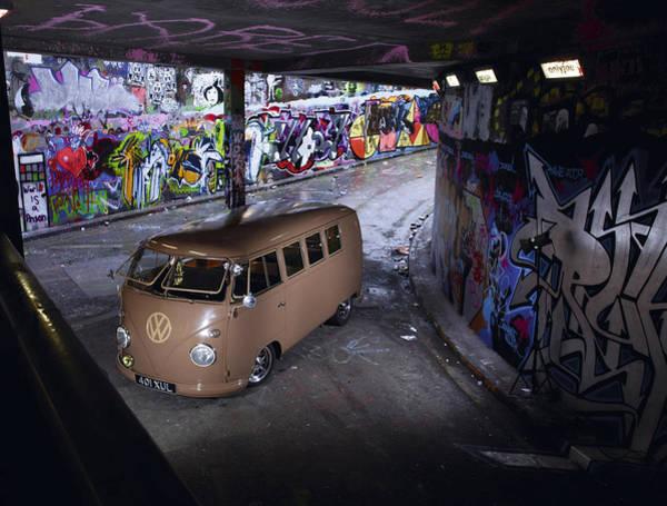 Microbus Photograph - Volkswagen Microbus by Mariel Mcmeeking