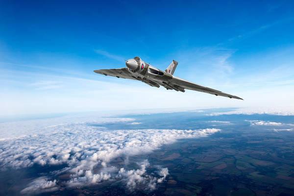 Photograph - Vulcan In Flight by Gary Eason